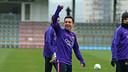 Xavi returns to the squad / PHOTO: FCB Archive