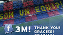 3 million followers on Penyes Facebook Page