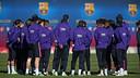 Luis Enrique a convoqué 18 joueurs / PHOTO: MIGUEL RUIZ - FCB