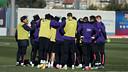 Luis Enrique ha citado a 18 jugadores para el desplazamiento a Elche / FOTO: MIGUEL RUIZ - FCB