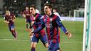Messi, con 2 goles, a vuelto a ser clave. FOTO: MIGUEL RUIZ - FCB