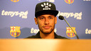 Neymar during the press conference / MIGUEL RUIZ-FCB