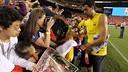 Sergio Busquets in USA / PHOTO: MIGUEL RUIZ - FCB