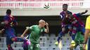 En el partido de la primera vuelta, el filial se impuso 3 a 1 en el Mini. FOTO: FCB-VICTOR SALGADO