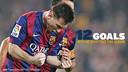 Messi a marqué 12 fois du droit / Montage FCB
