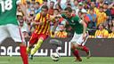 Jordi Alba in this season's first clash with Athletic Club / MIGUEL RUIZ-FCB