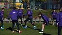 The team train daily this week. / MIGUEL RUIZ - FCB