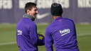 Messi and Neymar lead the squad list headed to Bilbao. / MIGUEL RUIZ-FCB