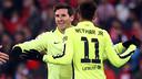 Messi and Neymar both scored again / MIGUEL RUIZ-FCB