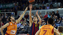 Satoransky the star of the show against Galatasaray / MIGUEL RUIZ - FCB