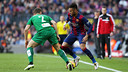 Neymar was delighted with a fine all-round performance from the team / MIGUEL RUIZ - FCB