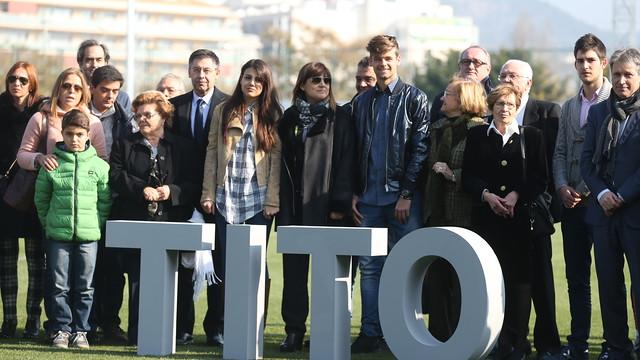 صور : نجوم برشلونة يستقبلون أسرة فيلانوفا في تدريبات اليوم MRG10074.v1424428378