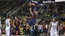 Hezonja had a big night in Barça's semi-final win. / ACB