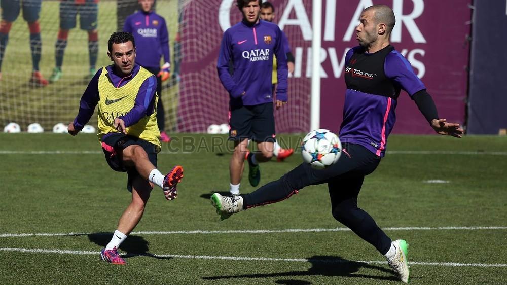 تدريبات برشلونة تشهد غياب ألبا 2015-02-22_ENTRENO_19-Optimized.v1424606320