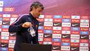 Luis Enrique discussed matters ahead of the trip to Granada / MIGUEL RUIZ - FCB