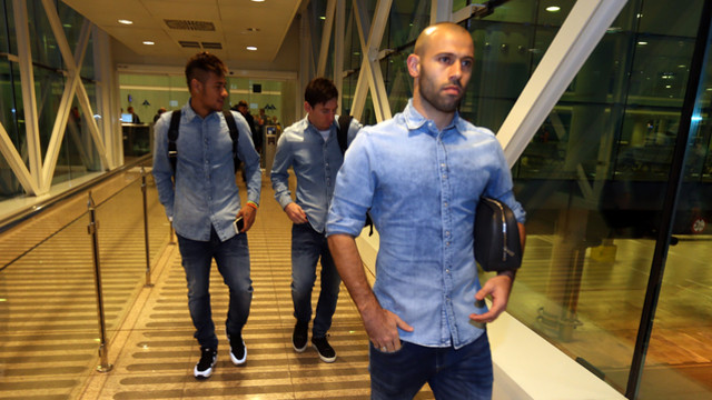 Mascherano, Neymar and Messi are among the players destined for Granada / MIGUEL RUIZ-FCB.