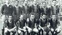 Plantilla de la temporada 1952/53 / ARCHIVO FCB
