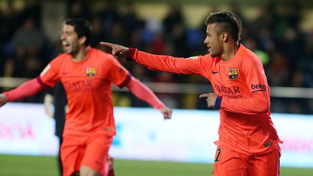 Neymar Jr ha signat el 0-1 / MIGUEL RUIZ-FCB