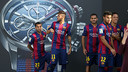 The players have been presented with their new Maurice Lacroix watches / MIGUEL RUIZ - FCB