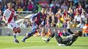 Luis Suárez found the Rayo Vallecano net twice on Sunday / VICTOR SALGADO
