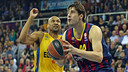 Ante Tomic in action against Maccabi / MIGUEL RUIZ-FCB