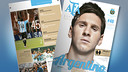 Messi is the cover boy of the March edition of AFA magazine. / FCB