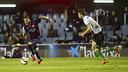 Sandro races toward the goal. / VÍCTOR SALGADO - FCB