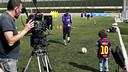 Leo Messi in the new Beko global advertising campaign / FOTO: Dani Aznar