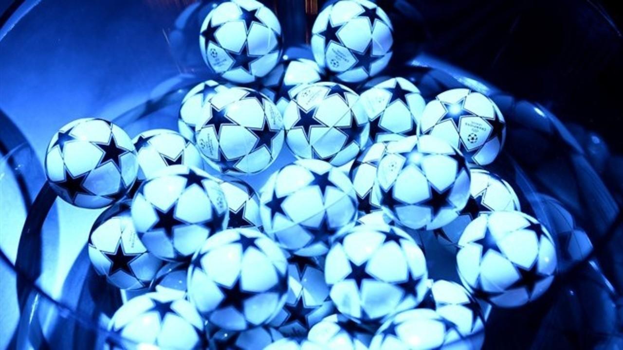 El bombo de un sorteo de la Champions League / UEFA.COM