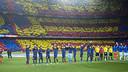 The 98,760 spectators on hand for Sunday's El Clásico at Camp Nou was a season high. / VÍCTOR SALGADO - FCB