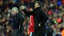 Luis Enrique was delighted to have beaten Real Madrid / MIGUEL RUIZ