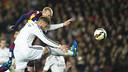 Mathieu scored a cracking header to open the scoring / VICTOR SALGADO