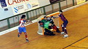 Gual during the game against Ceceda / CP Cerceda