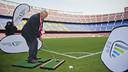 El Camp Nou ha acogido una delegación de la Ryder Cup / FOTO: VICTOR SALGADO