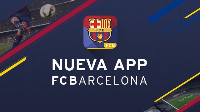 El FC Barcelona presenta la nueva app oficial