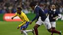 Neymar, face à l'équipe de France / Photo FIFA.COM