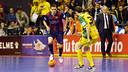 El Barça quiere mantener el liderato ante el Jaén / FOTO: MIGUEL RUIZ
