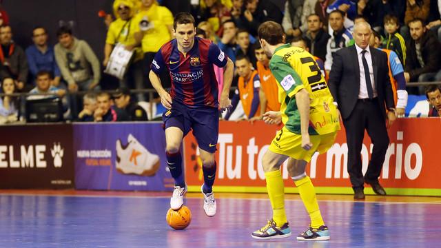 El Barça quiere mantener el liderato ante el Jaén