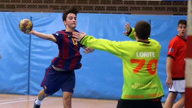 L'equip juvenil, campió de Catalunya / FOTO:ARXIU-FCB