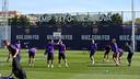 El Barça s'ha entrenat al Camp Tito Vilanova / MIGUEL RUIZ - FCB