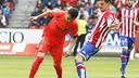 Munir struck the bar against Sporting / LFP