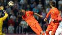 Mathieu a inscrit le but de la victoire à Vigo / MIGUEL RUIZ-FCB