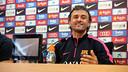 Luis Enrique in the press conference ahead of Almería game / MIGUEL RUIZ-FCB