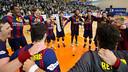 El Barça ha celebrat la cinquena Lliga Asobal consecutiva / GERMÁN PARGA - FCB