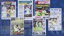 Les journaux après la victoire à Paris / FCB