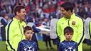 Messi et Suárez avant le match / MIGUEL RUIZ - FCB