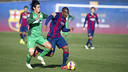 El Barça B have already played matches against teams from Asia this season  / VICTOR SALGADO-FCB