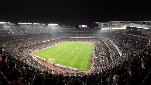 Yet more members now have season tickets for the Camp Nou / FCB ARCHIVE