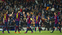 The team at the final whistle against PSG / VÍCTOR SALGADO-FCB
