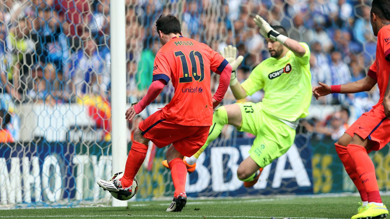Messi ha fet el segon gol del Barça / MIGUEL RUIZ - FCB
